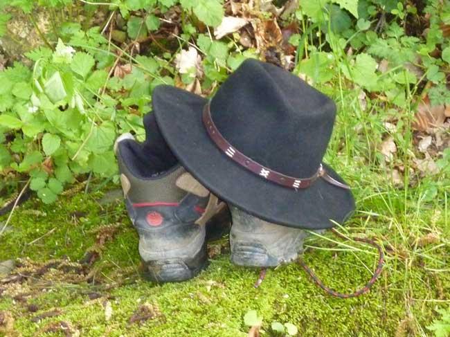 Hut-und-Schuhe