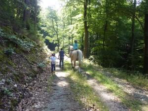 Reiten und Wandern